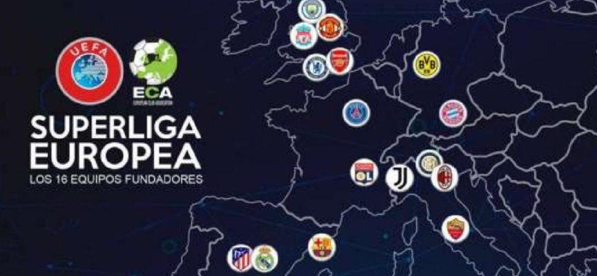 Nasce la Super League con Juve, Milan e Inter. Furiose la Uefa e la Fifa
