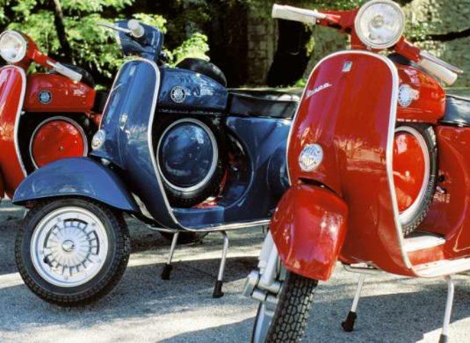 """LA VESPA – 23 aprile 1946. L'azienda Piaggio deposita il brevetto per """"motocicletta"""