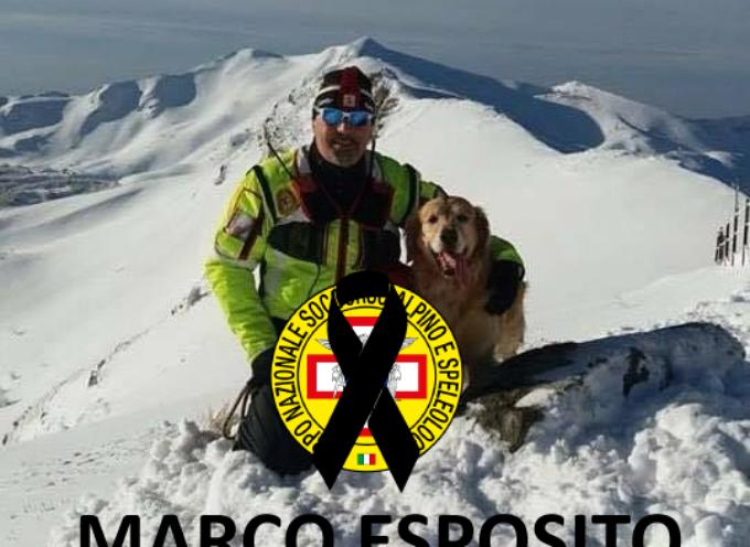 Con tristezza il Soccorso Alpino e Speleologico Toscano si stringe nel dolore per la scomparsa di Marco Esposito