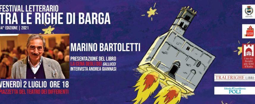 Marino Bartoletti ospite al festival Tralerighe di Barga.