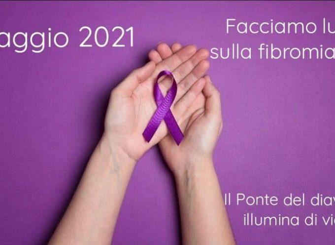 Borgo a Mozzano – Domani il Ponte del Diavolo si illuminerà di viola in occasione della Giornata Mondiale della Fibromialgia.