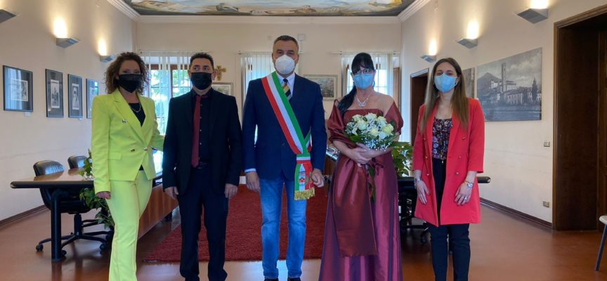PORCARI – MATRIMONIO CIVILE  DI GIUSEPPE E SIMONA