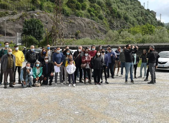 visita alla Linea Gotica per un bel gruppo di circa 50 persone .