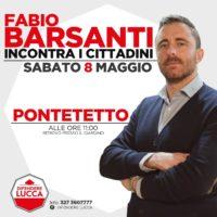 Difendere Lucca, il consigliere Barsanti sabato mattina a Pontetetto