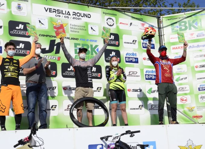 Successo per la Montagna Seravezzina il Campionato Italiano di Biciclette Assistite Enduro