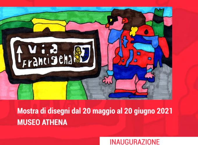 GIOVEDI' 20 MAGGIO AL MUSEO ATHENA SI INAUGURA LA MOSTRA DI DISEGNI DI DANIELE GIOVACCHINI