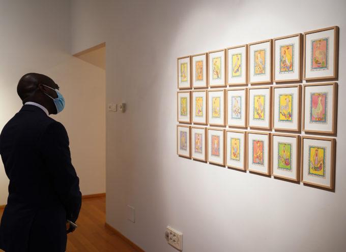 Aperture straordinarie nei fine settimana per la mostra Frédéric Bruly Bouabré,