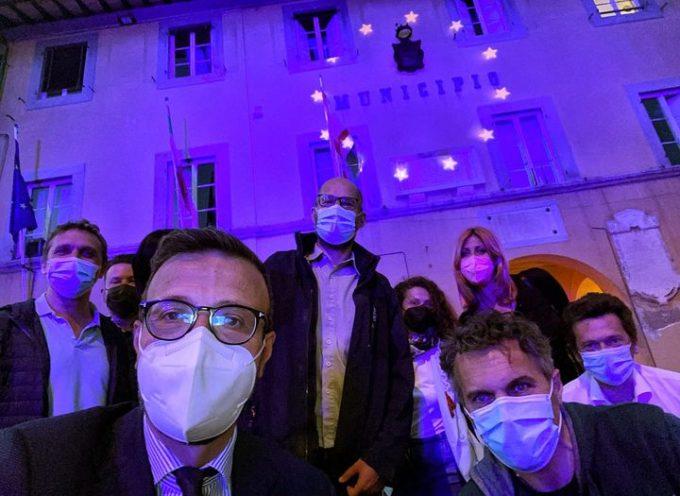 La Toscana si è illuminata di blu per la Festa dell'Europa