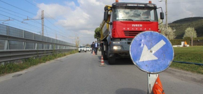 nuova fognatura in via Carlo del Prete e fibra ottica in via Solaio, le modifiche alla viabilità