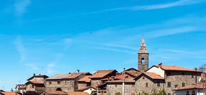 ORZAGLIA – Il paese si estende sulle basse pendici del monte Frignone