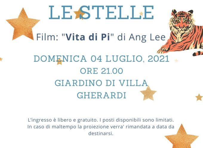 """La Pro Loco Barga organizza per    una serata di """"Cinema sotto le stelle"""""""
