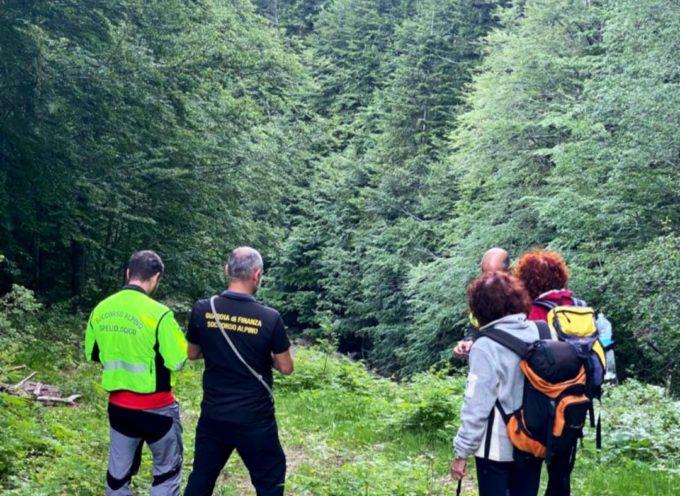il sast interviene in zona abetone per escursionisati in difficolta'