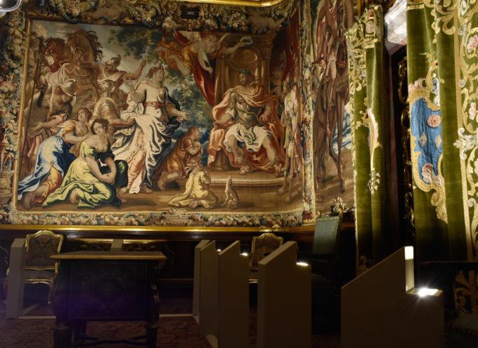 Nuova luce per gli arazzi fiamminghi del Museo nazionale di Palazzo Mansi
