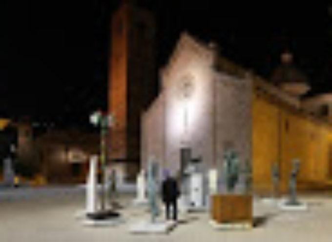"""Pietrasanta – Dante nel girone degli artisti per l'esposizione """"La Piazza in attesa"""""""