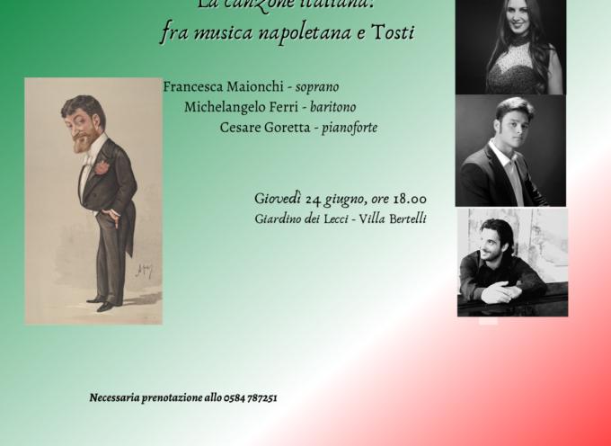 villa bertelli – La canzone italiana: fra musica napoletana e Tosti