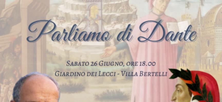 Prestigioso ritorno a Villa Bertelli Lo storico, saggista e scrittore Franco Cardini