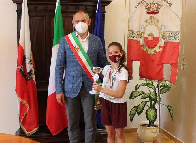 Il sindaco Menesini ha ricevuto Maia Papeschi