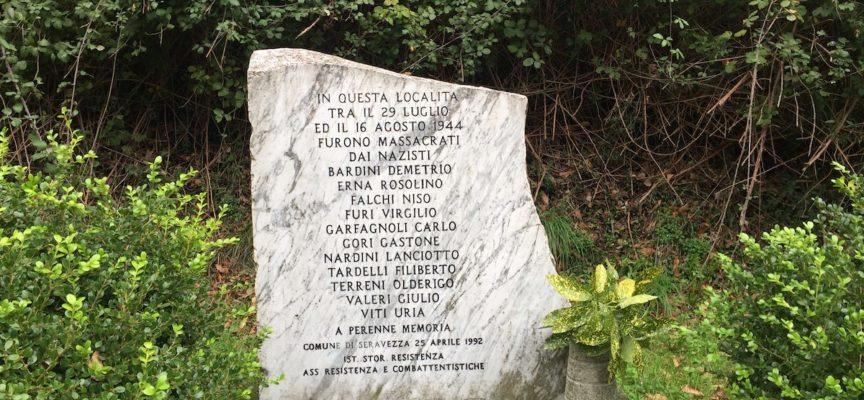 Seravezza e Livorno commemorano le undici vittime della strage delPonte del Pretale dell'estate 1944