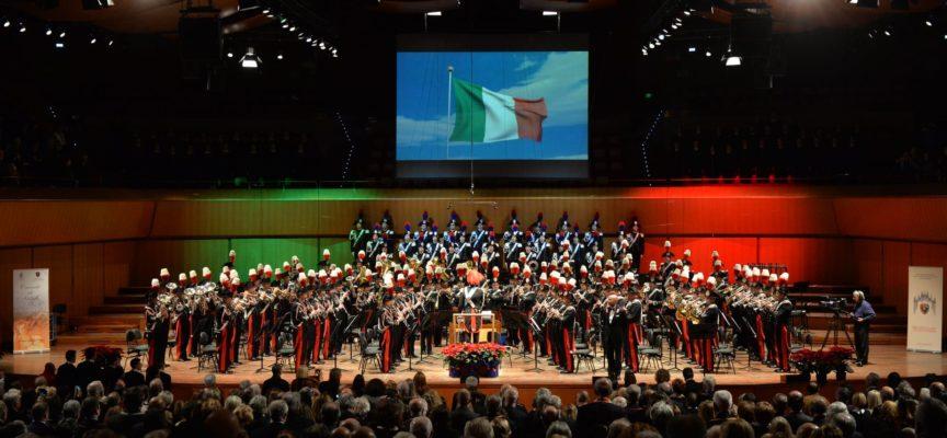 Concerto della Banda Musicale dell'Arma dei Carabinieri al Gran Teatro Puccini di Torre del Lago.