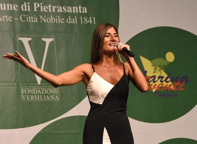 Caterina Ferri in Concerto allo Spazio Incontri Agorà di Tonfano sabato 24 luglio ore 21.30