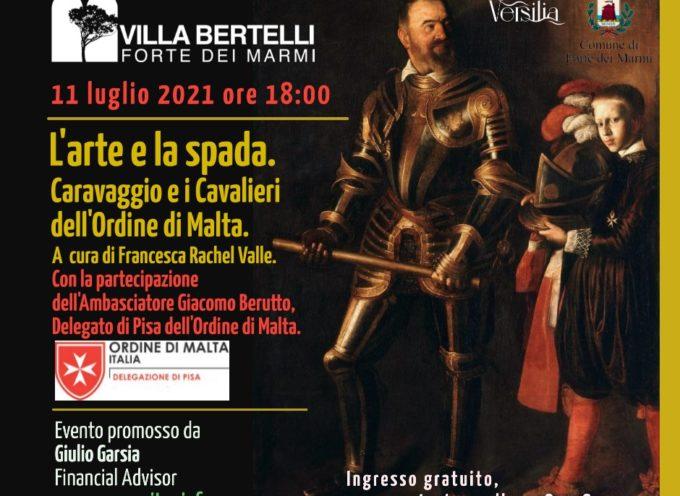 Torna la grande arte a Villa Bertelli con l'incontro L'arte e la spada.