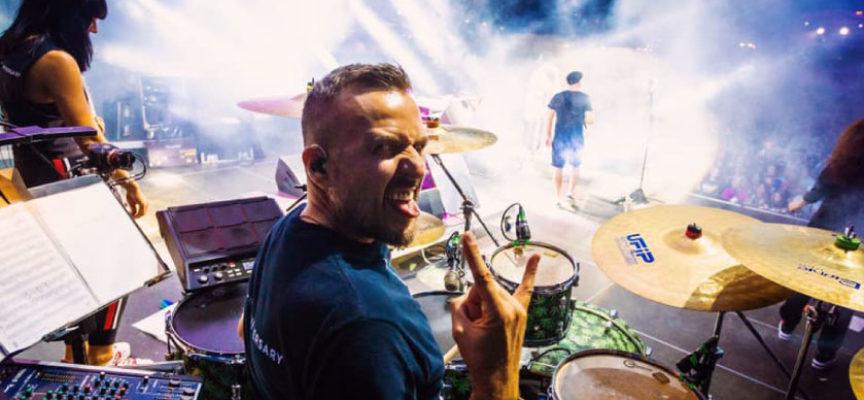 Il batterista di J-Ax docente alla Jam Academy (Lucca) Insegnerà ai corsi Bachelor in Music Performance
