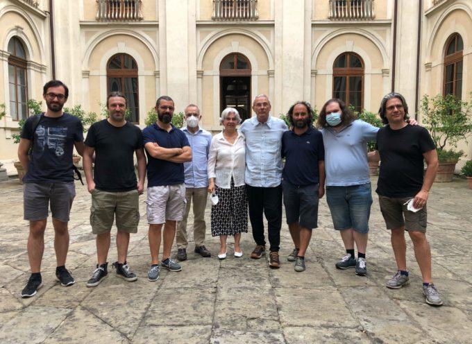 la lezione del Corso della Cluster tenuta al Museo Zeffirelli di Firenze .