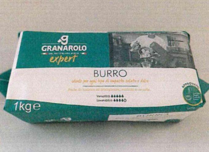 Ancora glutine non dichiarato in tre diversi tipi di burro.