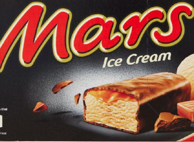 Mars richiama tre dei suoi gelati per ossido di etilene oltre i limiti. Dopo il sesamo è la volta dei gelati