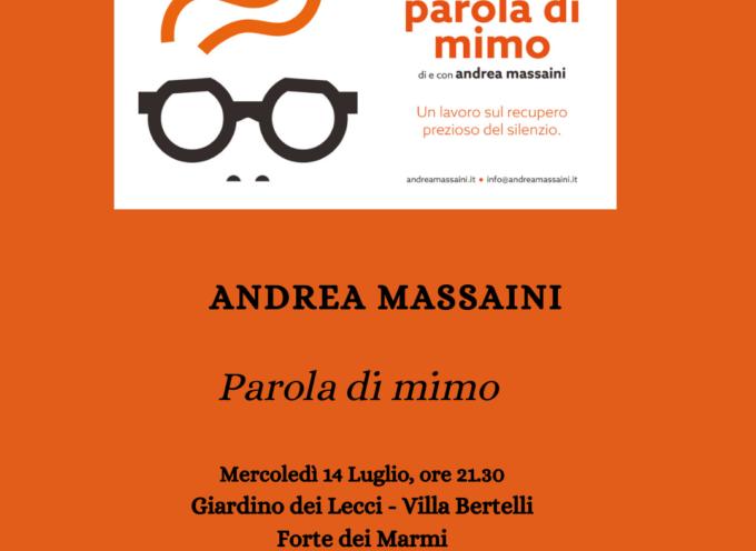 Parola di mimo – Spettacolo di teatro contemporaneo a cura di Andrea Massaini