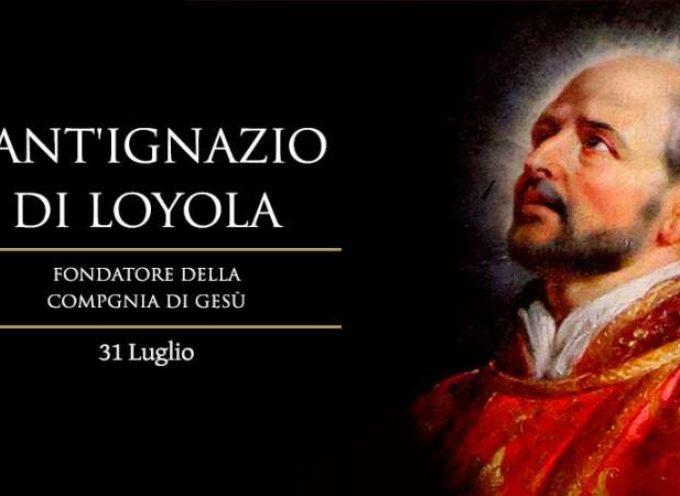 Il Santo del giorno, 31 Luglio: Ignazio di Loyola, fondatore della Compagnia di Gesù