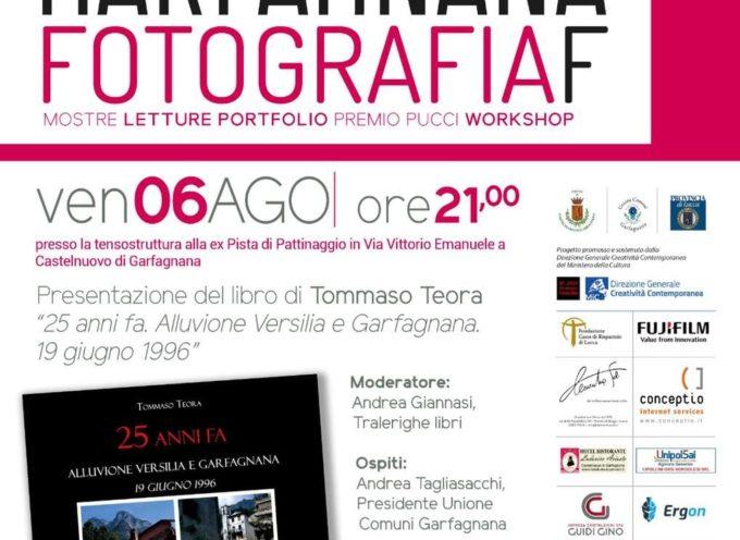 """Castelnuovo di Garfagnana  presso la ex pista di pattinaggio, verrà presentato il libro fotografico """"25 anni fa. ALLUVIONE VERSILIA  E GARFAGNANA"""