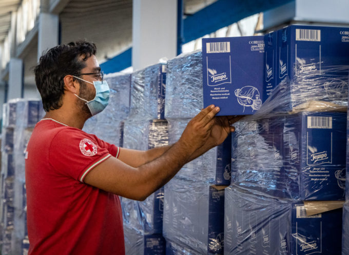 Essity dona 3,2 milioni di mascherine alla  Croce Rossa Italiana