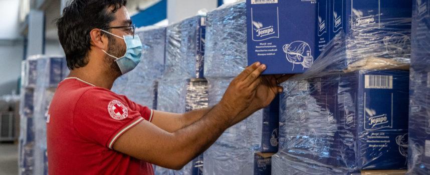Essity dona oltre 22mila pacchi di fazzoletti Tempo a Croce Rossa Italiana