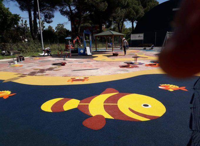 SI Inaugura il nuovo parco giochi di Rughi: