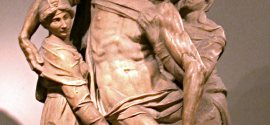 La Pietà Bandini di Michelangelo è stata fatta con marmo di Seravezza