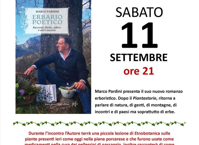 Sabato sera 'botanico' all'auditorium Vincenzo Da Massa Carrara.