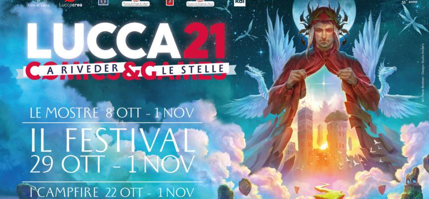 Lucca Comics & Games presentata l'edizione 2021