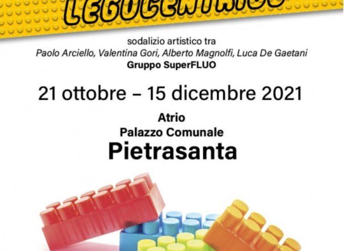l'Assemblamento LEGOcentrico in Municipio, il Duomo ed il Campanile realizzati con i celebri mattoncini