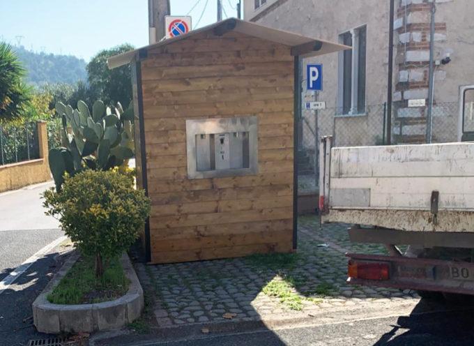 installata la seconda casetta dell'acqua a Pozzi