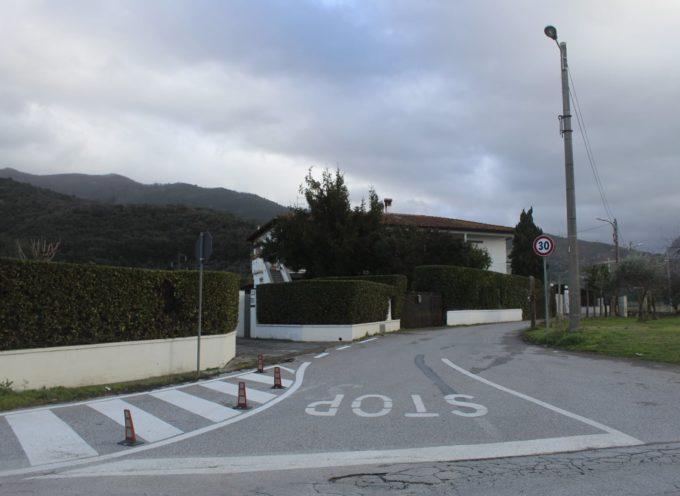 Viabilità: via Cugnia, divieto di transito temporaneo dal 18 al 22 ottobre