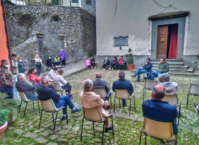 MARIO PUPPA –  Oggi a Fabbriche d Vallico, come attorno al caminetto, abbiamo parlato di montagna