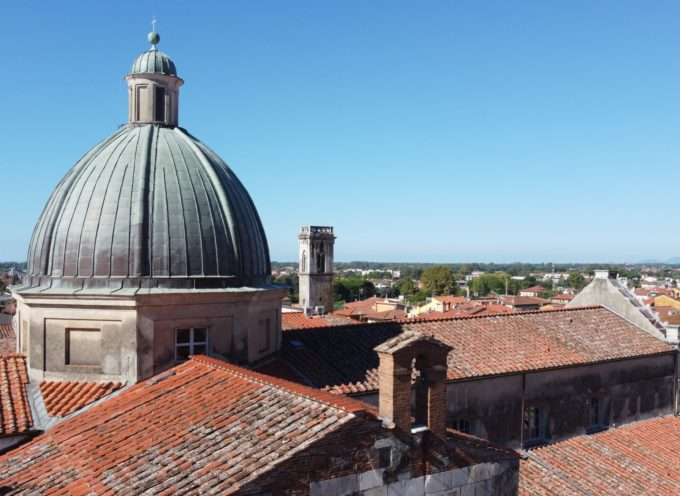 Intervento di riparazione cupola del Duomo, divieto di transito in via Garibaldi e divieto di sosta in via Marzocco