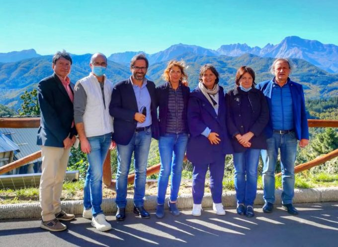 Ieri ho accompagnato la Vice Presidente della Regione  Stefania Saccardi a visitare la mia GARFAGNANA