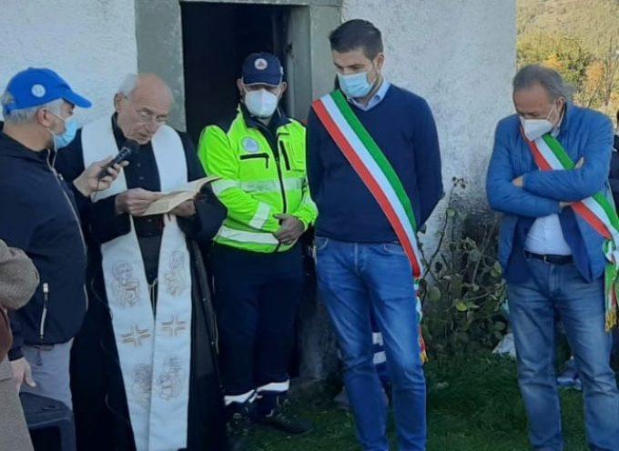 l'amministrazione comunale di Castelnuovo di Garfagnana,  ha inaugurato la strada Torrite-Granciglia