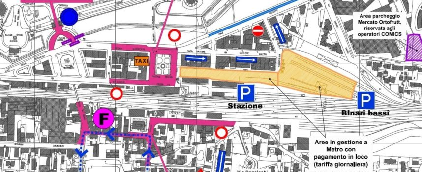 Come cambia il traffico alla Stazione per lucca comics