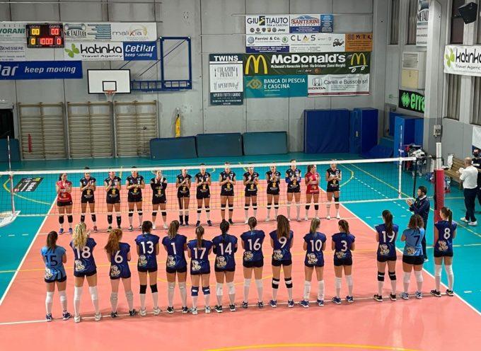 ASD. PALLAVOLO CASCIAVOLA 3-1 V.P. VOLLEY. Campionato regionale di Serie C