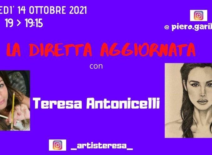 L'espressione ritrattista nel disegno di Teresa Antonicelli a La Diretta Aggiornata