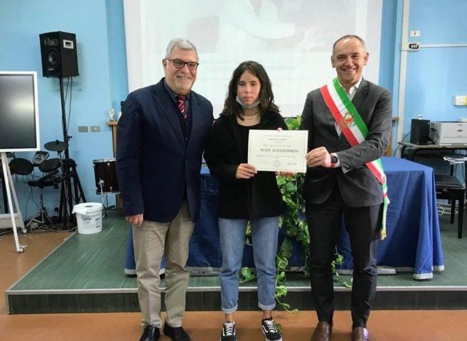 ASSEGNATA AD ALICE ALESSANDRINI LA BORSA DI STUDIO 'ILIO MICHELONI' 2020-2021