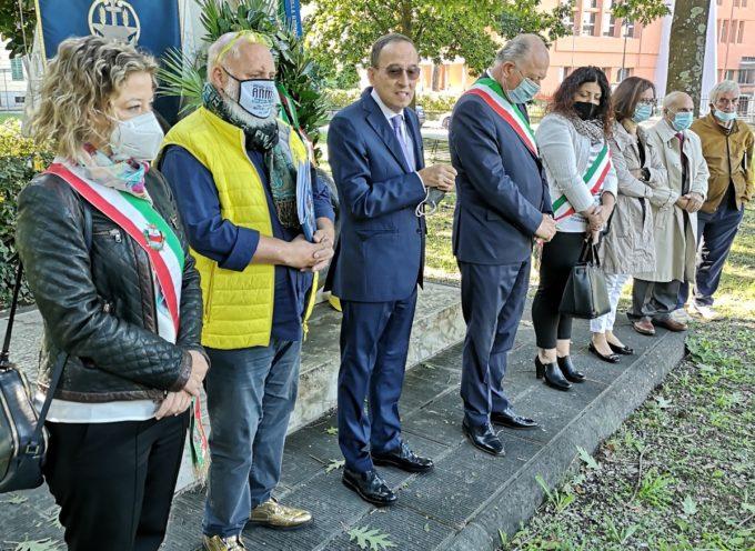 Celebrata la 71esima Giornata nazionale per le vittime del lavoro al monumento in piazza della Concordia